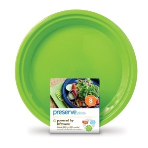 Large On The Go Plates Apple Green 10.5