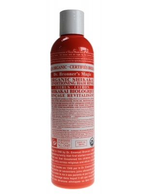 Dr. Bronners Magic Soap Citrus Hair Conditioning Rinse