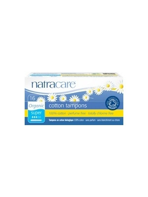 Natracare Tampons with Applicator, Super