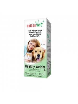 HomeoVet Homeopathic Drops Healthy Weight