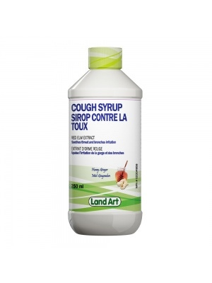 Land Art Red Elm Cough Syrup