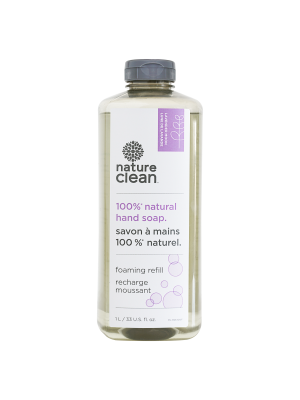 Nature Clean Lavender Moon Foaming Hand Soap