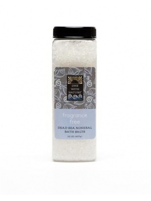 One With Nature Fragrance Free Bath Salts