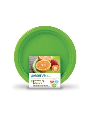 Platewear Small On The Go Plates Apple Green 7