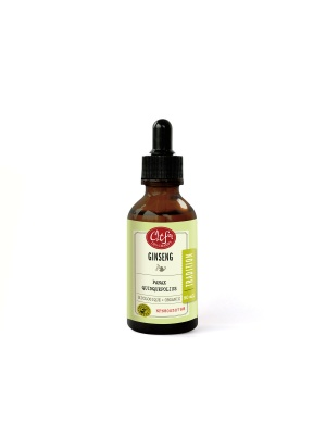 Clef des Champs Ginseng Tincture Organic