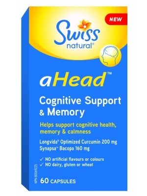 Swiss Naturals aHead Cognitive Support & Memory