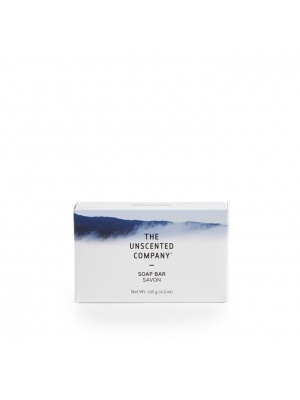 The Unscented Co. Unsc. Soap Bar, Vegetable Glycerin
