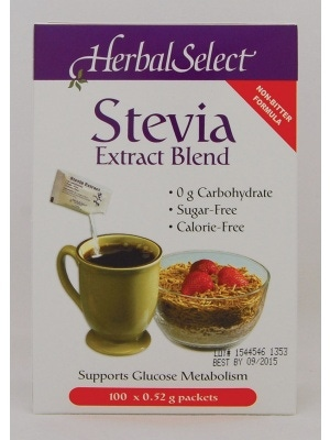 Herbal Select Stevia Extract Packets