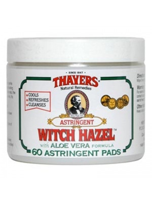 Thayer's Astringent Pads, Original Witch Hazel with Aloe