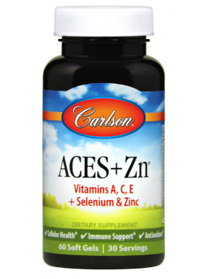 Carlson Laboratories-Aces and Zinc-60 Soft Gels