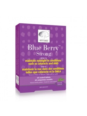 New Nordic Blue Berry Bright Eyes Formula, Strong