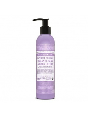 Dr. Bronner's Lavender Coconut Lightly Scented Organic Lotion