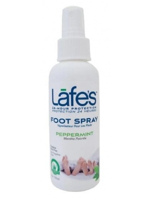 Lafes Body Care-Natural Foot Spray w/Peppermint-8 oz
