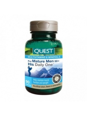 Quest The Quest for Health For Mature Men 50+ His Daily One