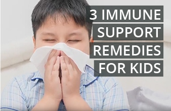 Top 3 Immune Support Remedies for Kids