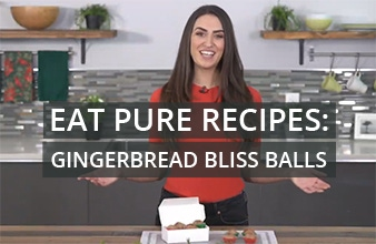 Eat Pure Recipes: Gingerbread Bliss Balls