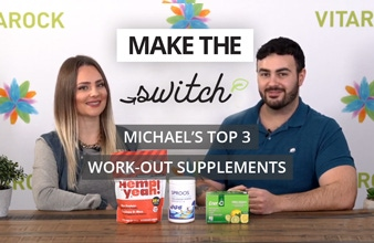 Make the Switch - Michael's Top 3 Post Work-Out Supplements