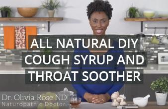 All Natural DIY Cough Syrup and Throat Soother