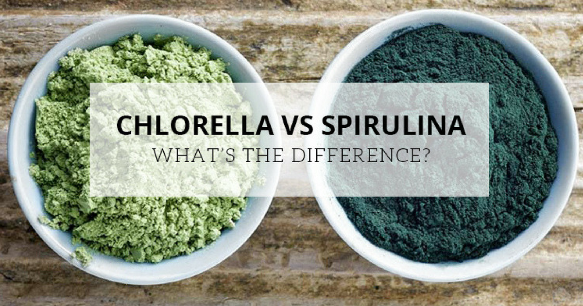 Chlorella Vs Spirulina: What's the Difference?