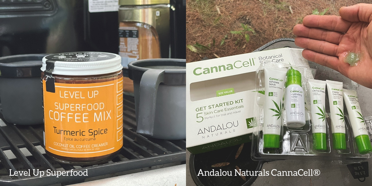 Level up superfood / Andalou Naturals Cannacell